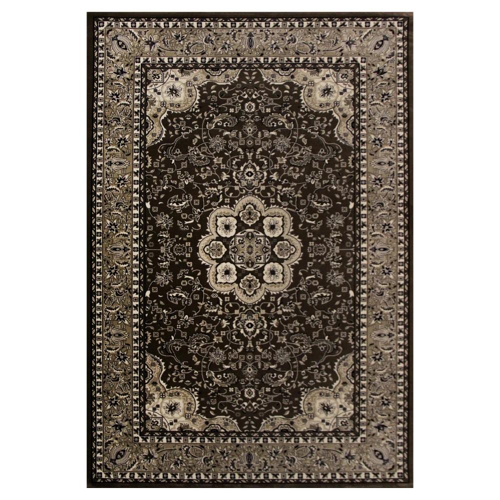 Brown Classic Woven Area Rug - (7'X10') - Art Carpet