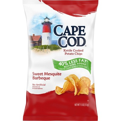 Cape Cod Kettle Cooked Potato Chips - Sweet Mesquite Barbeque 8oz