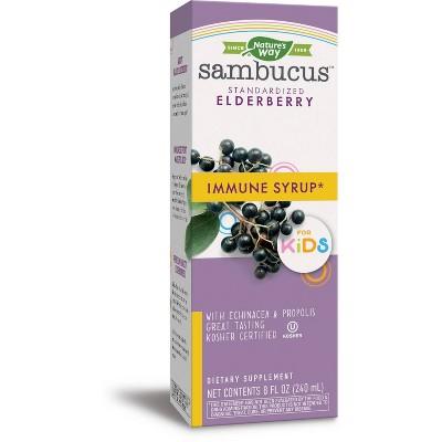 Nature's Way Sambucus Immune Syrup for Kids with Elderberry - 8 fl oz