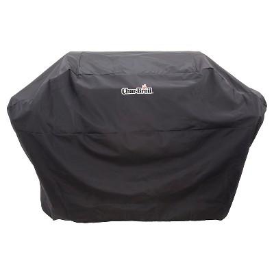 Char-Broil® 5+ Burner Rip-Stop Grill Cover - Black - Black