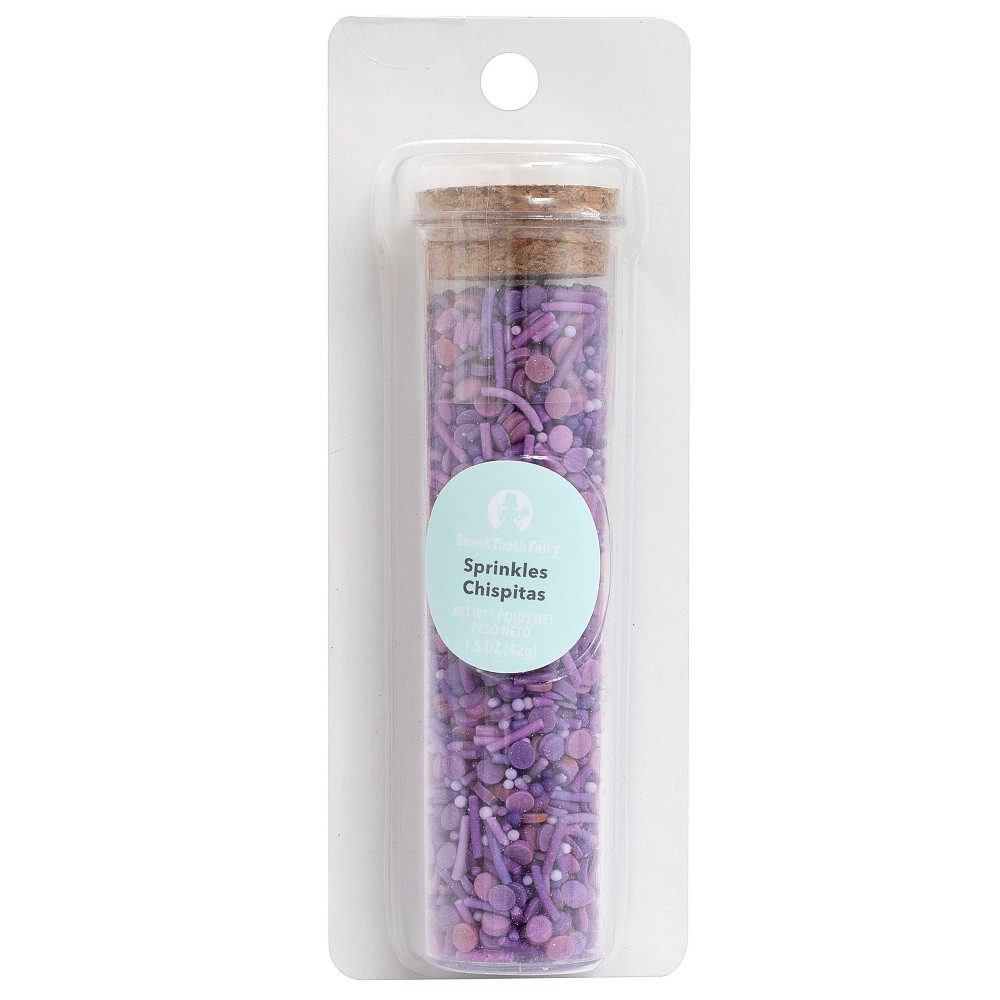 Image of American Crafts Small Sprinkle Mix - Purple