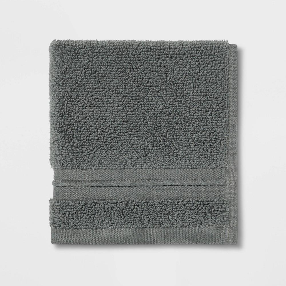 Spa Washcloth Dark Gray - Threshold Signature Best