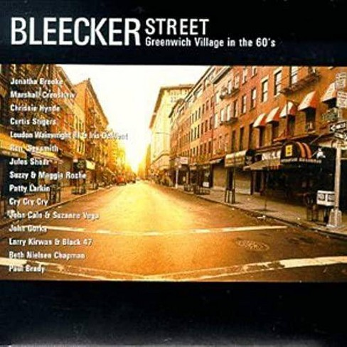 Various Artists - Bleecker Street: Greenwich Village in the 60s (CD) - image 1 of 1