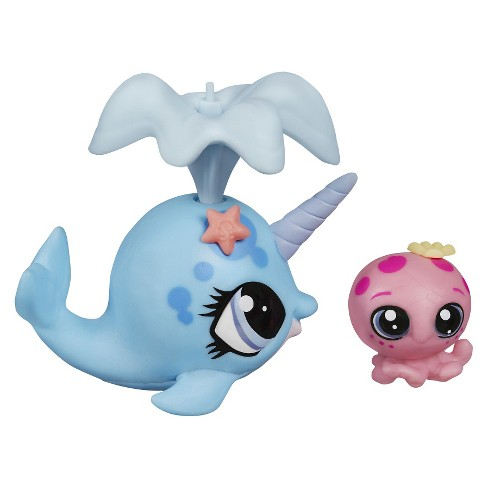 Littlest Pet Shop Pet Pawsabilities Ned Narwhal & Oceania Kelp - image 1 of 2