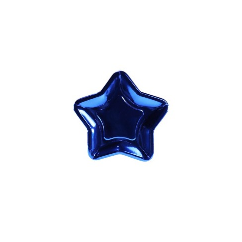 12ct Star Shaped Snack Paper Plate - image 1 of 1