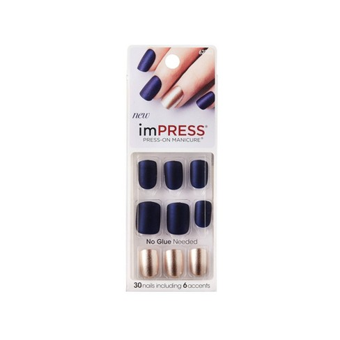 makeup review swatches impress by broadway press on manicure 36 nail ...