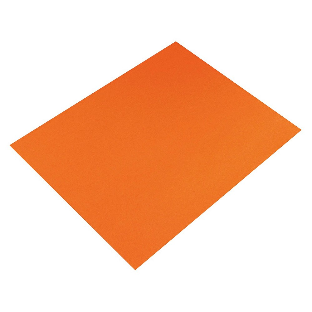 Pacon Four-Ply Poster Board - Orange