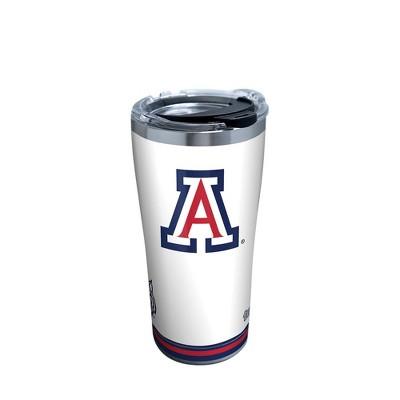 NCAA Arizona Wildcats 20oz Arctic Stainless Steel Tumbler