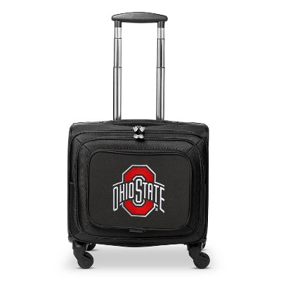 NCAA Ohio State Buckeyes Mojo Carry On Laptop Spinner Wheels Suitcase