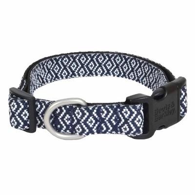 Rhombic Jacquardd Dog Collar - Boots & Barkley™