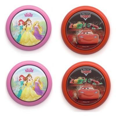Philips Disney Princess & Cars McQueen Battery Powered LED Light (2 Pack each)