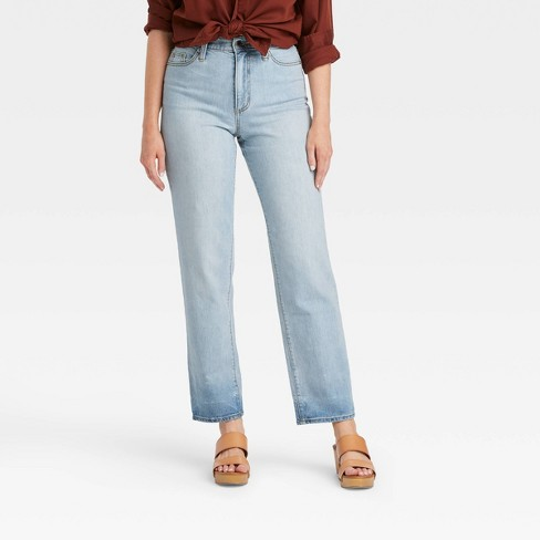 Women's 90's High-Rise Vintage Straight Jeans - Universal Thread™ - image 1 of 3