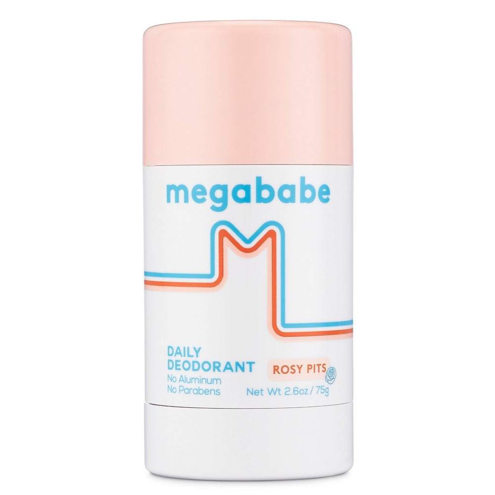 Image of Megababe Rosy Pits Daily Deodorant - 2.6oz
