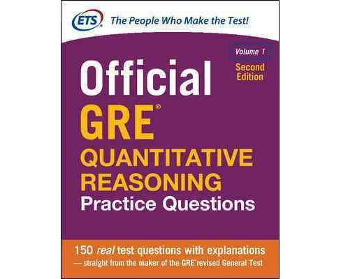 Official GRE Quantitative Reasoning Practice Questions (Vol 1) (Paperback) - image 1 of 1