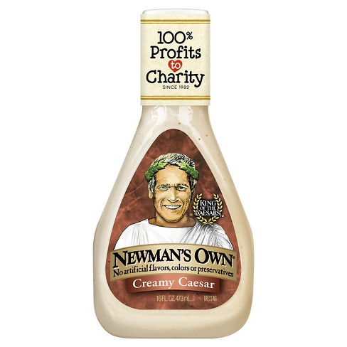 Newman's Own® Creamy Caesar Dressing - 16 fl oz - image 1 of 1