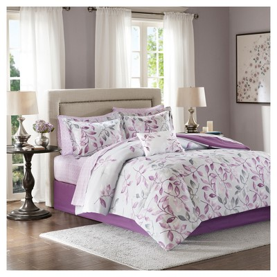 Purple Rowan Complete Comforter