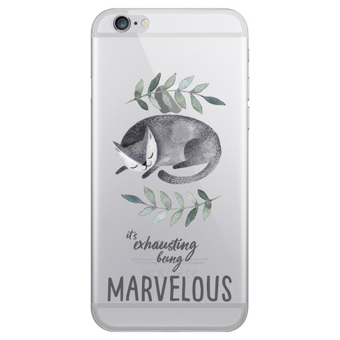 Apple iPhone 8/7/6s/6 Case Hybrid Kitty Marvelous Clear - OTM Essentials - image 1 of 1