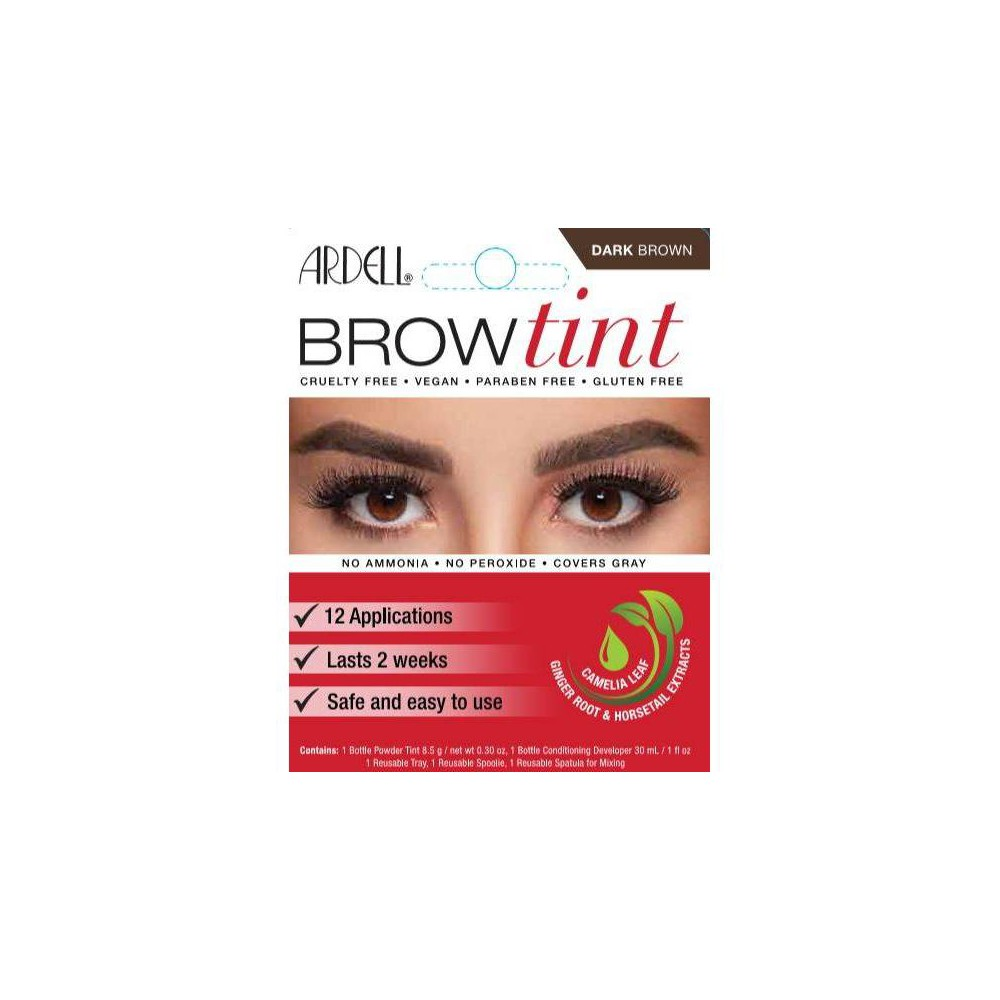 Image of Ardell Brow Tint Dark Brown - 12ct