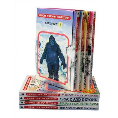 Choose Your Own Adventure 4-Book Set, Volume 1 - by  R a Montgomery (Paperback)