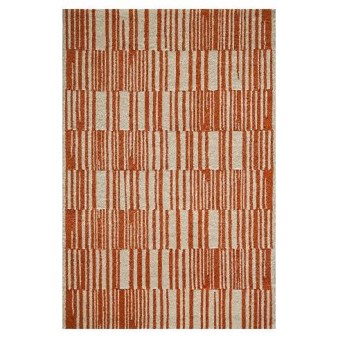 Modern Stripe 100 Wool Rug