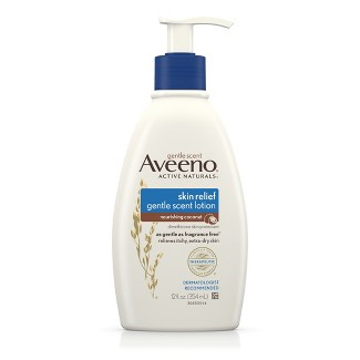 Aveeno® Skin Relief Gentle Scent Lotion For Extra Dry Skin - Nourishing Coconut - 12 fl oz