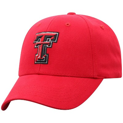 NCAA Texas Tech Red Raiders Men's Structured Brushed Cotton Hat