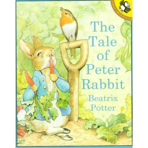 The Tale of Peter Rabbit - (Picture Puffin Books) by  Beatrix Potter (Paperback) - image 1 of 1