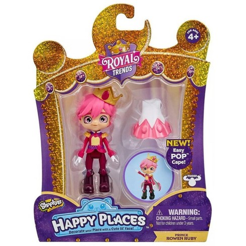 Shopkins Happy Places Royal Trends Prince Rowen Ruby Lil' Shoppie Pack - image 1 of 3