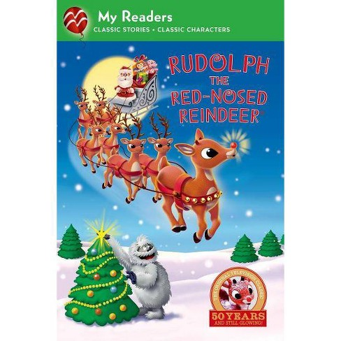 Rudolph the Red-Nosed Reindeer (My Reader, Level 2) - (My Readers) by  Kristen L Depken (Hardcover) - image 1 of 1