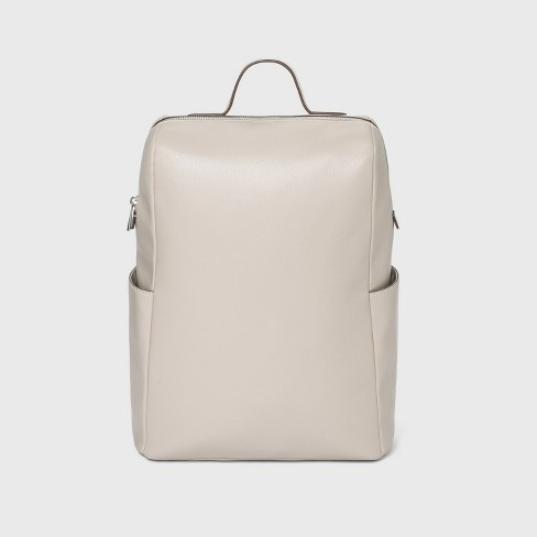 Zip Closure Full Side Pocket Backpack - A New Day™ - image 1 of 4