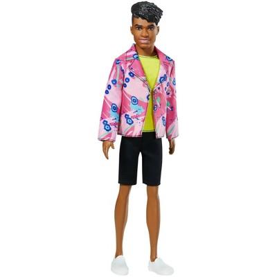 Barbie Ken 60th Anniversary Doll - Throwback Rocker Look Neon Top