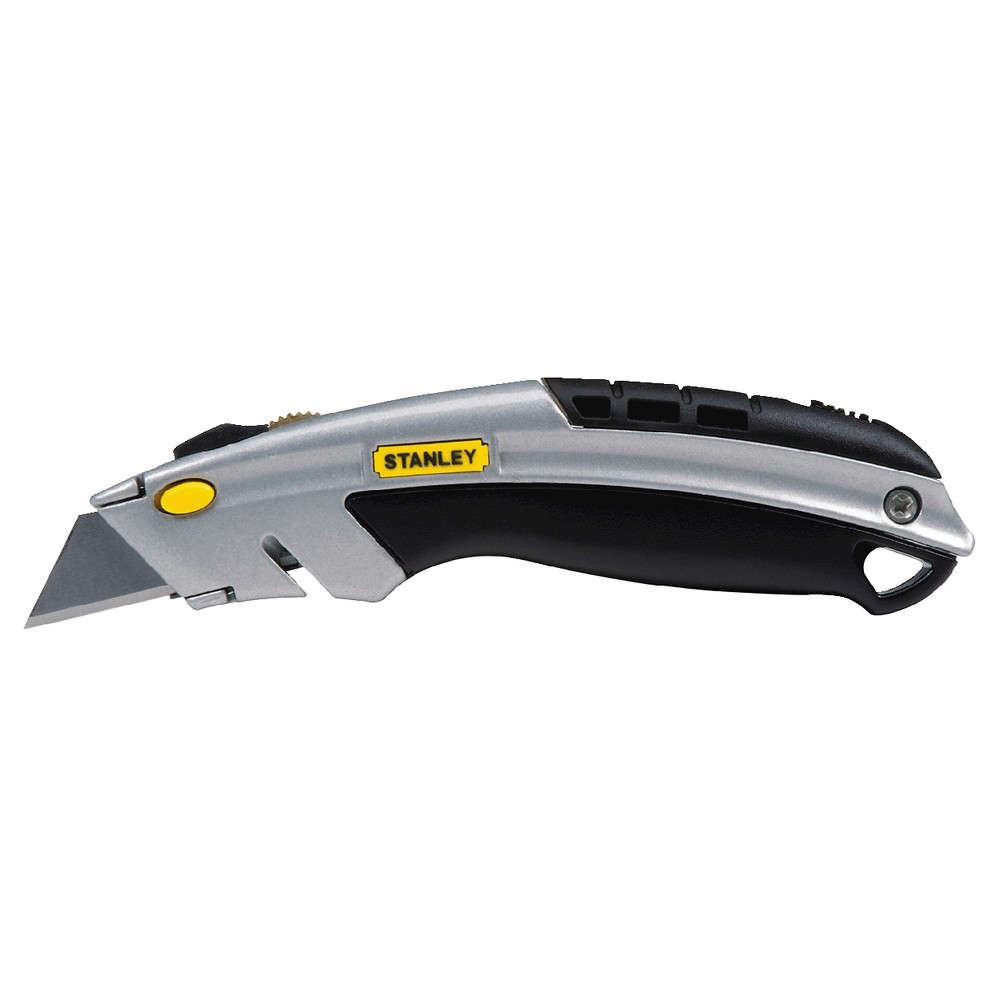 Stanley Instant Change Utility Knife - 10-788 W, Gray/Black