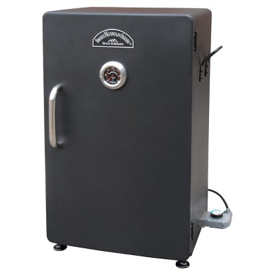 "Landmann Smoky Mountain 26"" Vertical Electric Smoker Steel Model 32948 - Black"