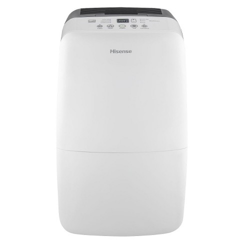 Hisense - 70 Pint Dehumidifier with Built-in Pump - White/Gray - image 1 of 1