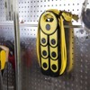 "Quirky 2""x3"" Pivot Power Surge Protector Yellow/Black - image 3 of 3"