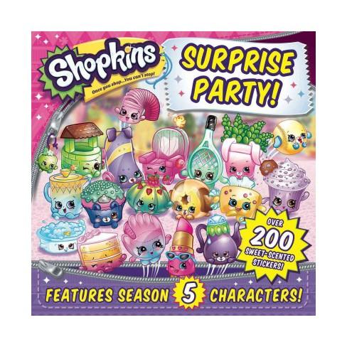 Shopkins Surprise Party! - (Paperback) - image 1 of 1