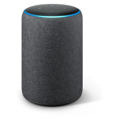 Amazon Echo Plus Smart Speaker with Alexa and Built In Smart Home Hub (2nd Generation)- Charcoal