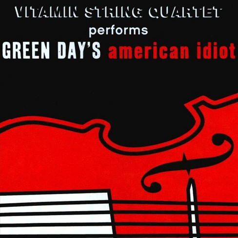 Vitamin string quart - Vitamin string quartet performs green (CD) - image 1 of 1