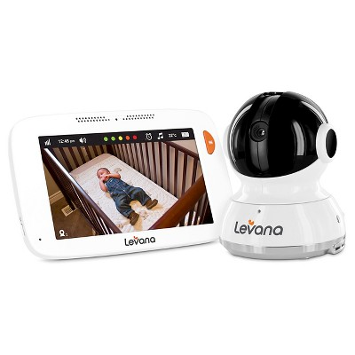 Levana Willow 5  Touchscreen Video Monitor with Pan, Tilt, Zoom Camera