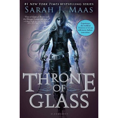 Throne of Glass - by  Sarah J Maas (Paperback)