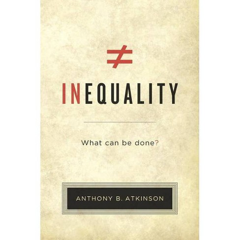 Inequality - by  Anthony B Atkinson & A B Atkinson (Hardcover) - image 1 of 1