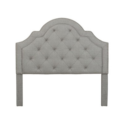 John Boyd Designs Queen Harris Tufted Upholstered Headboard