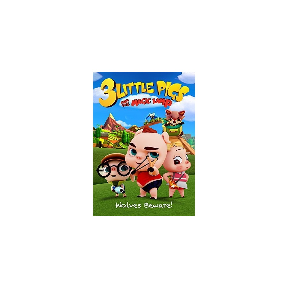 3 little pigs and the magic lamp (Dvd)