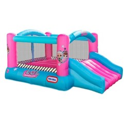 L.O.L. Surprise! Jump 'n Slide Inflatable Bounce House with Blower, Kids Unisex