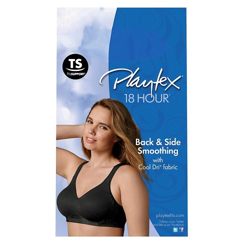 100891a2f0 Playtex® 18 Hour® Women s Seamless Smoothing Wireless Bra 4049 Nude ...