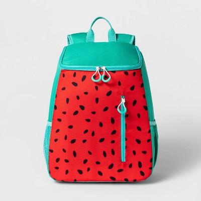 14.4qt Backpack Cooler Watermelon - Sun Squad™