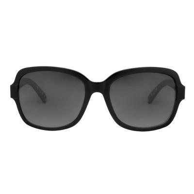 a0643ab5b9 Womens Polarized Smoke Sunglasses – A New Day™ Black – Target ...