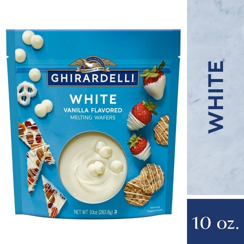 Ghirardelli White Melting Wafers 10oz - image 1 of 4