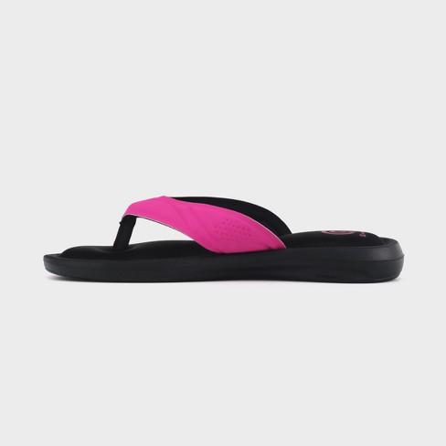 2d6e52fd2a5 Girls  Marguerite Sport Memory Foam Flip Flop Sandals - C9 Champion® Pink XL    Target