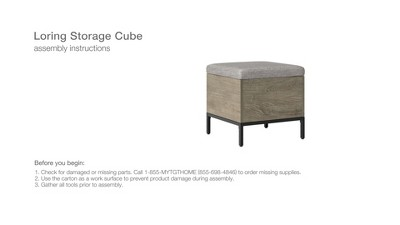 Loring Storage Cube - Project 62™ : Target